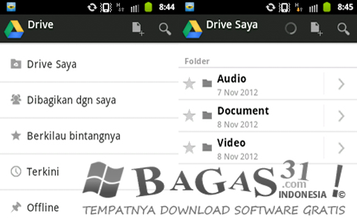 how to download files from google drive on rasbian