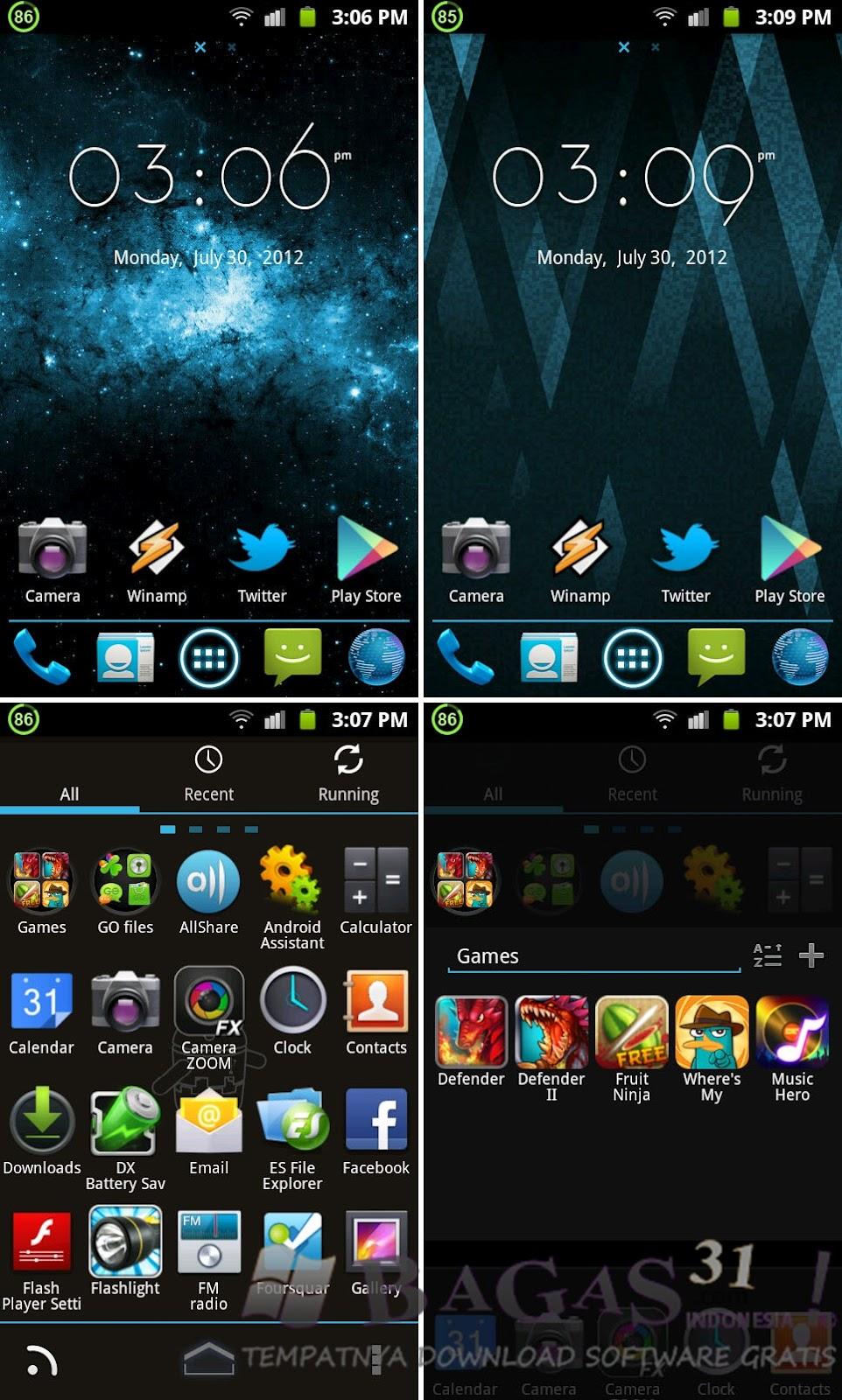 Go Launcher Ex Ice Cream Theme Awir07 Download