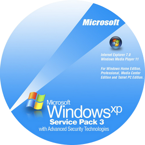 Windows XP Professional Service Pack 3 32-bit 2012+SATA Drivers